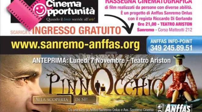 Riviera24 - Cinema Opportunità Anffas sanremo 2016