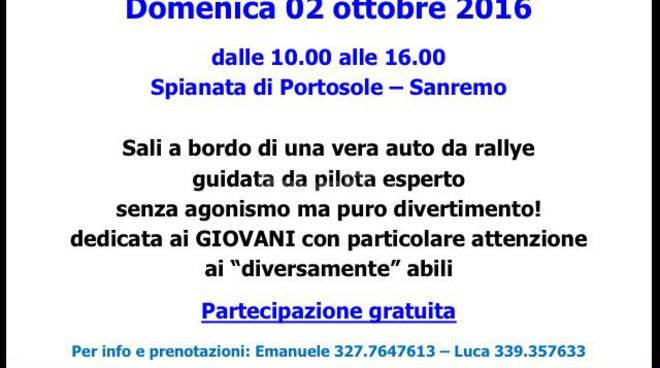 "riviera24 - ""Diversamente rally"""
