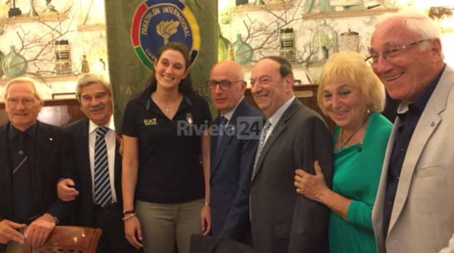 riviera24  - Il Panathlon Club Imperia-Sanremo festeggia Giulia Gorlero