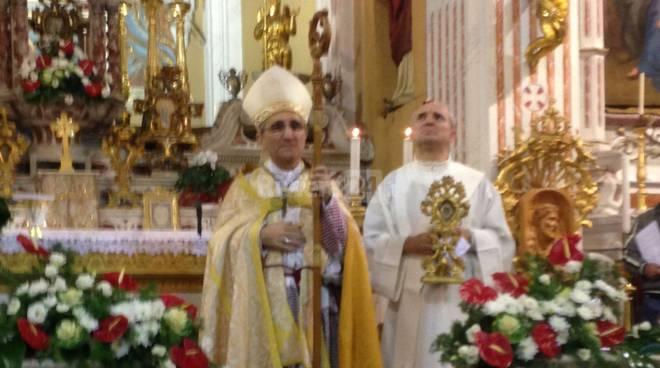 riviera24 - Il vescovo Borghetti a Moltedo