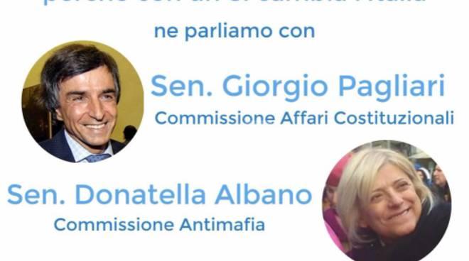 riviera24 - Imperia un incontro con i senatori Albano e Pagliari