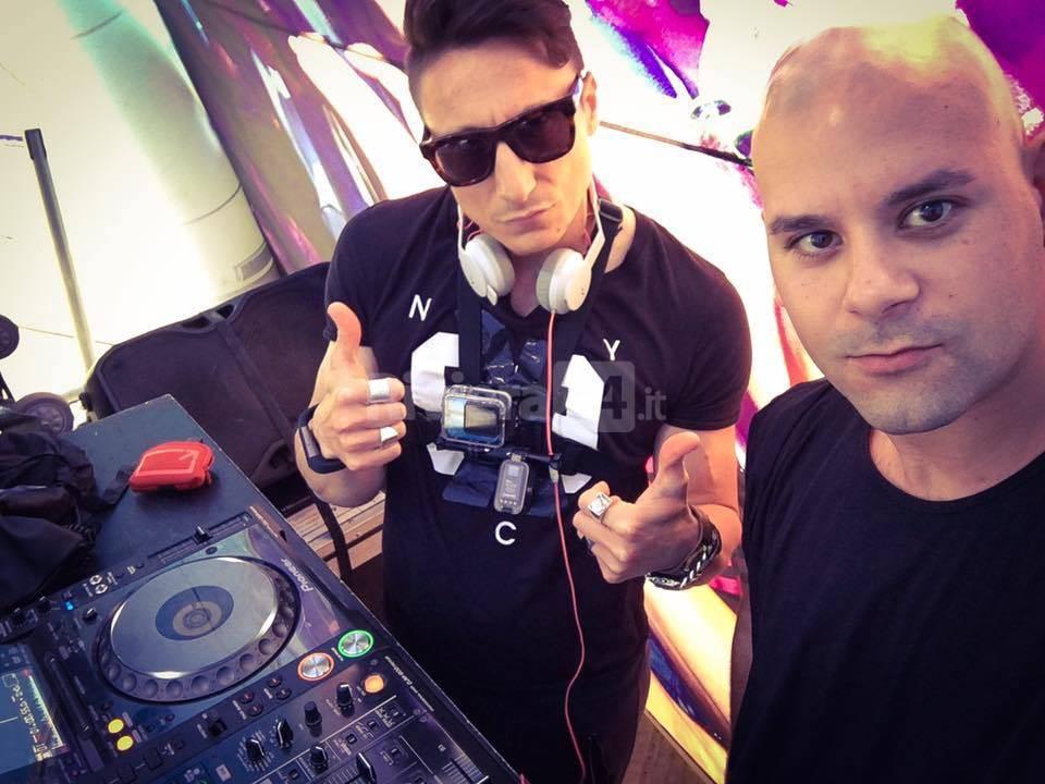 Riviera24 - Michele Cozzi Micky Uk e Stefano Fisico