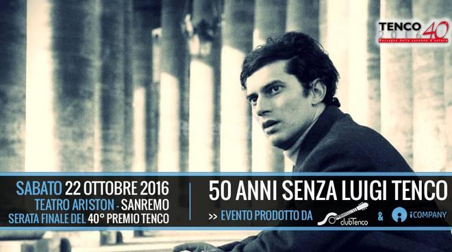 riviera24 - Omaggio a Luigi Tenco a 50 anni dalla sua scomparsa