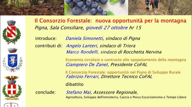 riviera24 - Pigna, nasce il Consorzio Forestale Alpi Liguri