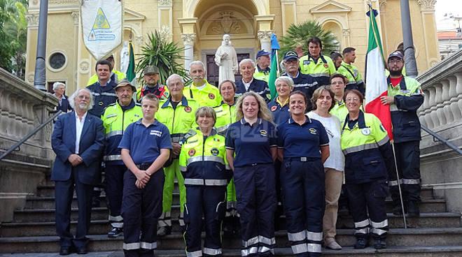 Riviera24 - San Pio pratrono protezione civile Sanremo 2016