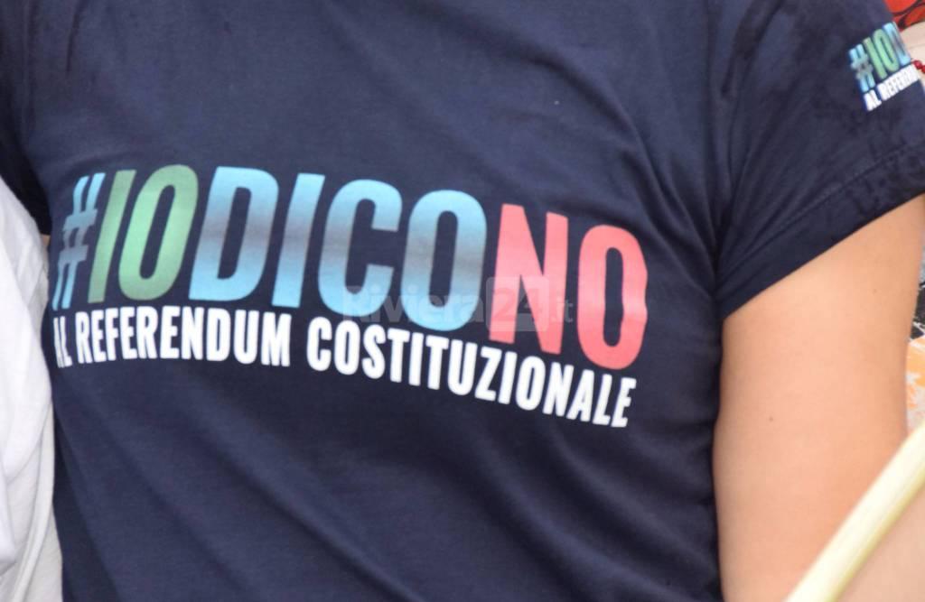 riviera24 - sanremo Passa in città la marcia #IODICONO al Referendum Costituzionale