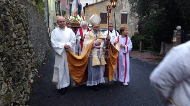 riviera24 -  Vescovo Borghetti a Moltedo