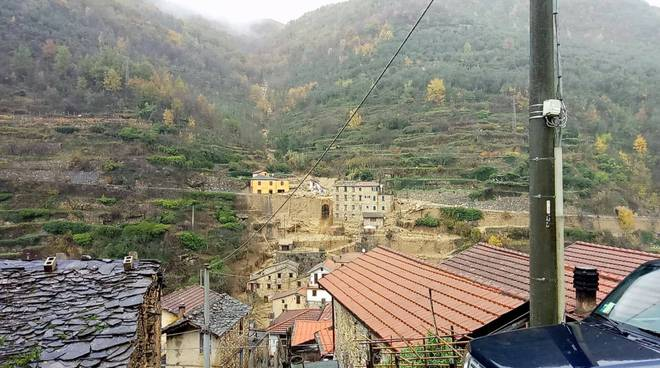 #allertarossa, le immagini da Pieve di Teco
