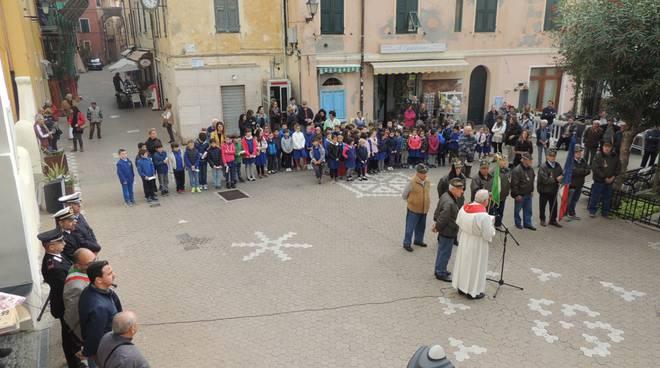 le celebrazioni del 4 novembre a riva ligure