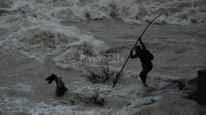 Migrante disperso nel fiume Roja a Ventimiglia