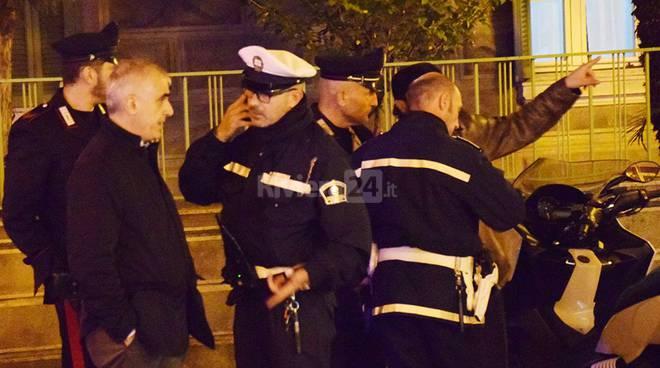 poliziotto investito