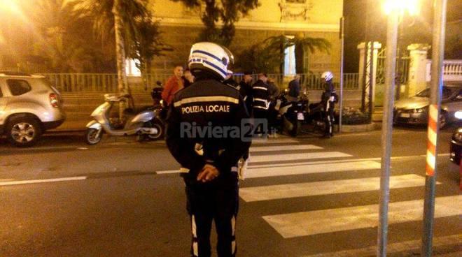 Poliziotto investito a Sanremo