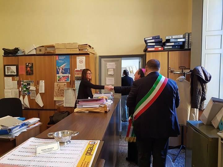 Riva Ligure, il vescovo Suetta in consiglio comunale per la visita pastorale