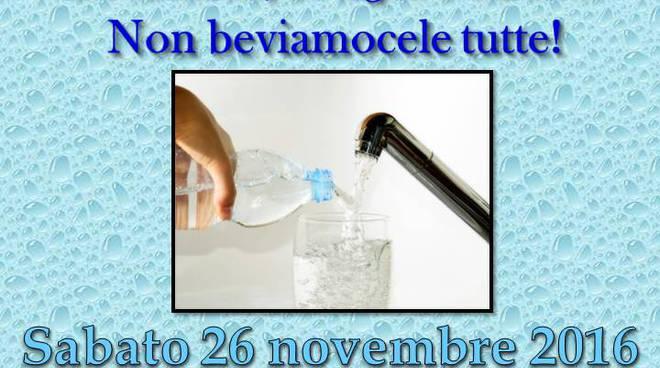 """riviera24 - """"Acqua di rubinetto, bottiglia o caraffa? Non beviamocele tutte!"""""""