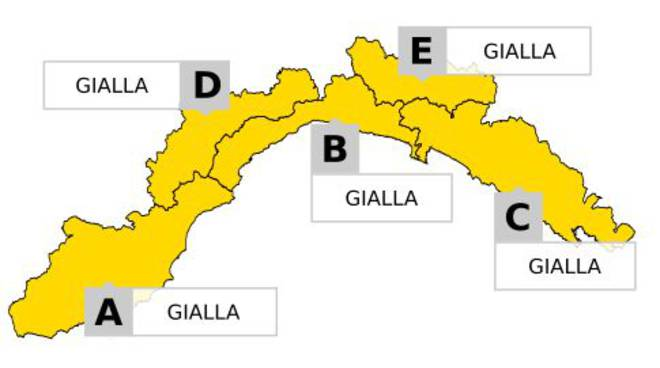 riviera24 - Allerta gialla