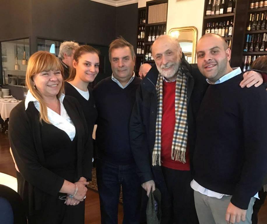 riviera24 - Carlo Petrini presidente di Slow Food a pranzo da Ittiturismo MB Patrizia