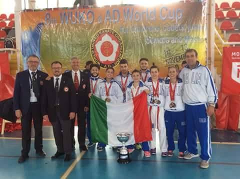 riviera24 - Coppa del Mondo a BUENOS AIRES FEDERICA AMANTE KARATE