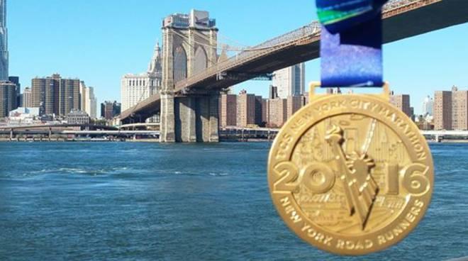 riviera24 - gianluca oddone della Sanremo Runners alla maratona di New York