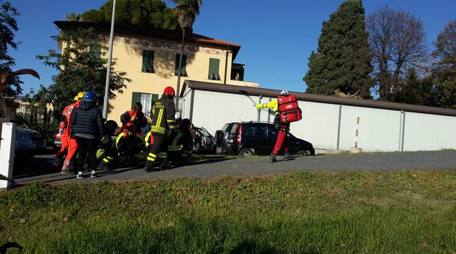 riviera24 - Incidente a Borghetto San Nicolò