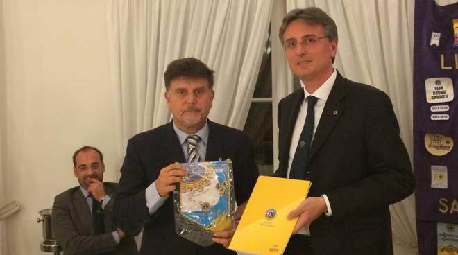 riviera24 - Luca Fucini ospite al Lions Club Sanremo Host