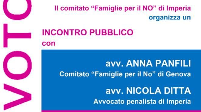 """riviera24 - """"Referendum: le ragioni del NO"""""""