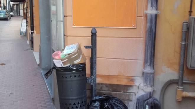 riviera24 -Rifiuti a Ventimiglia