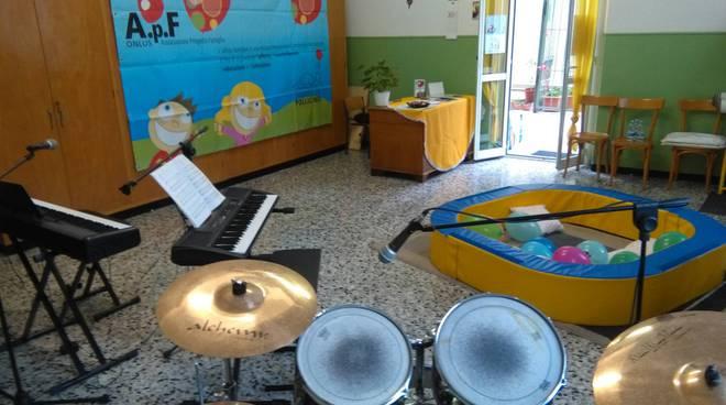 riviera24 - Sala Musicale Noi alla Casa Famiglia Pollicino