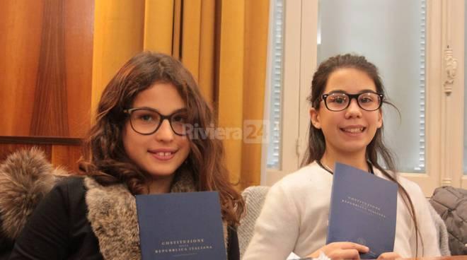 Riviera24 - Sanremo, studenti scuola media Pascoli in consiglio comunale