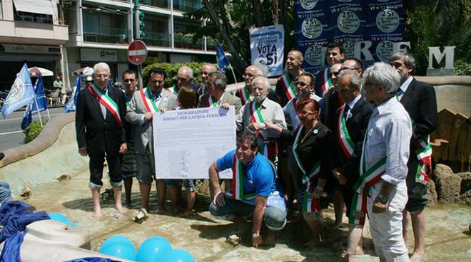 riviera24 - Sindaci per l'Acqua pubblica