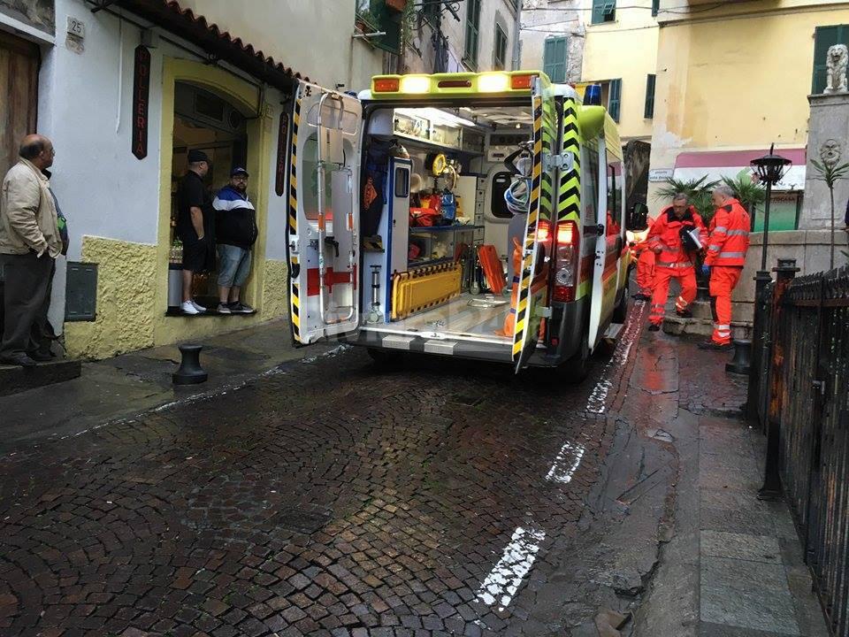 Suicidio 20enne Ventimiglia Alta