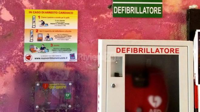 Riviera24 - defibrillatore rubato alla Pigna di sanremo