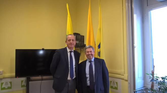 riviera24 - Enzo Pagliano e Gerolamo Calleri