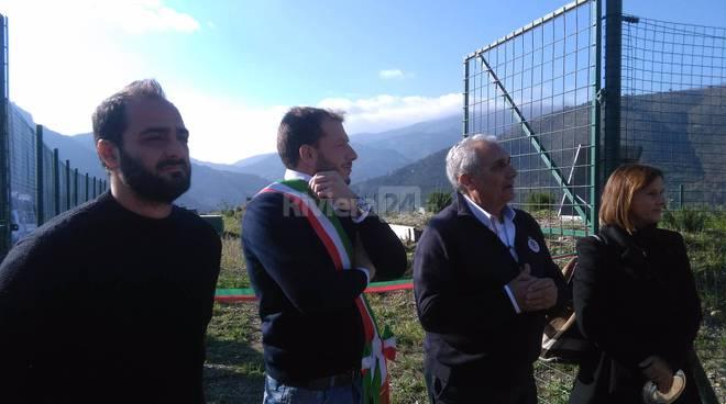 riviera24 - Inaugurazione serbatoi a Porra