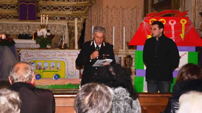 riviera24 - Incontro dei carabinieri a Badalucco