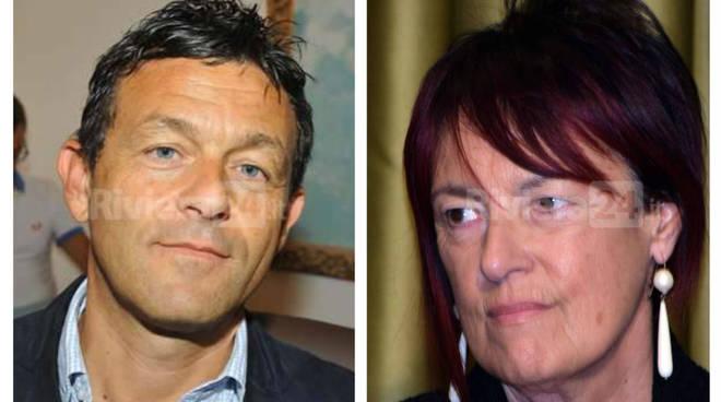 Riviera24 . Pio Guido Felici e Daniela Cassini
