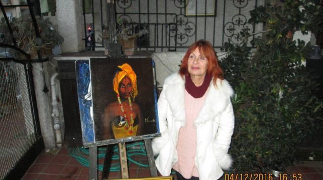 """riviera24 - Vallecrosia: inaugurata la mostra """"collettiva"""""""