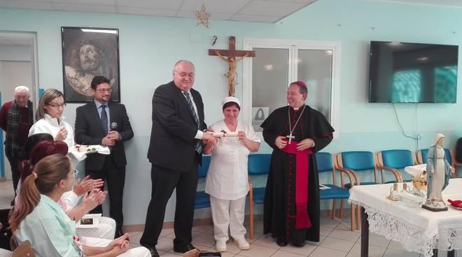 riviera24 - Vallecrosia, vescovo Suetta a Casa Rachele