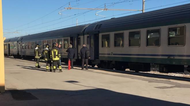 riviera24 vigili del fuoco treno