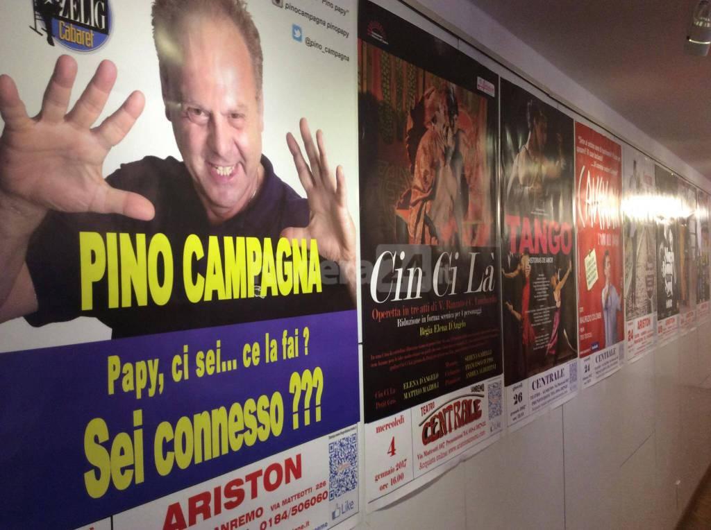 Sanremo, presentazione stagione teatrale 2017 all'Ariston e al Centrale