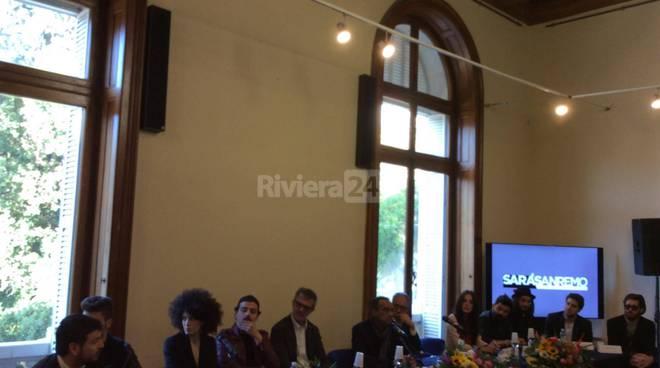 Sarà Sanremo, conferenza stampa