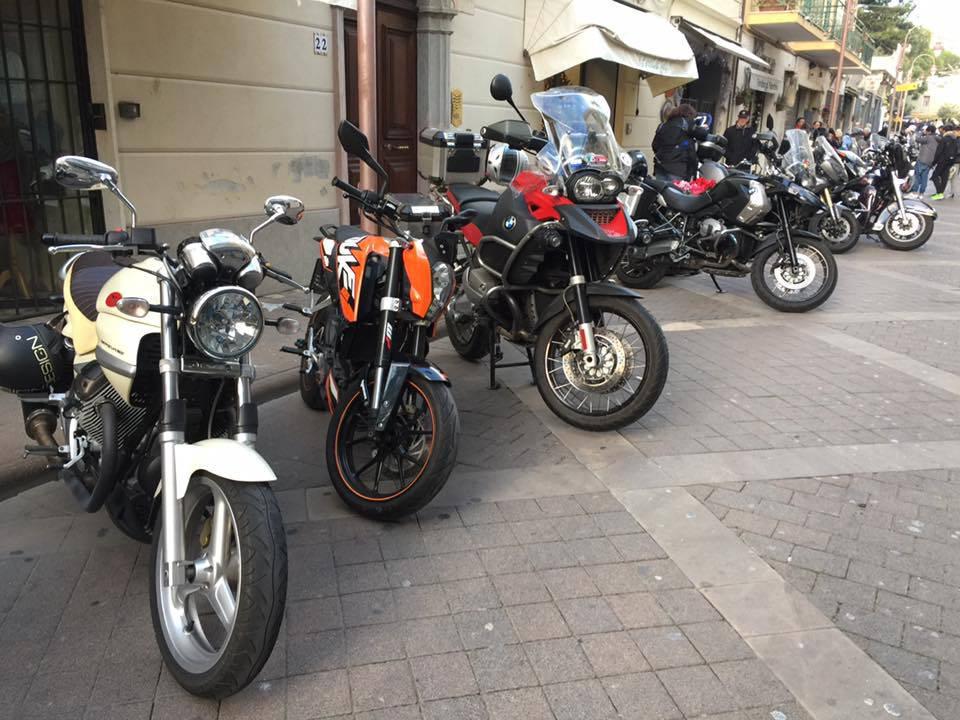 Ad Arma di Taggia brindisi di inizio anno con il Moto Club Valle Argentina