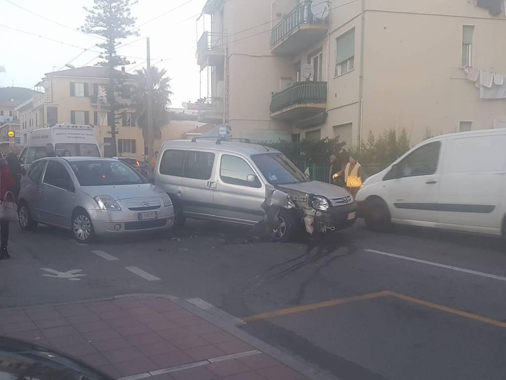 incidente via san francesco