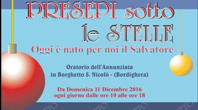 """riivera24 - """"Presepi sotto le stelle"""" a Borghetto San Nicolò"""