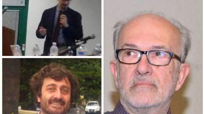 riviera24 - Corrado Ramella, Franco Faraldi e Giuseppe Picchianti