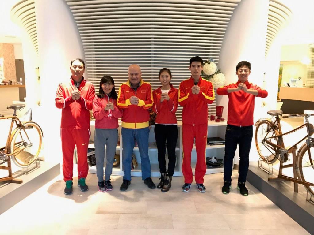 riviera24 - I campioni della Nazionale Cinese di Marcia