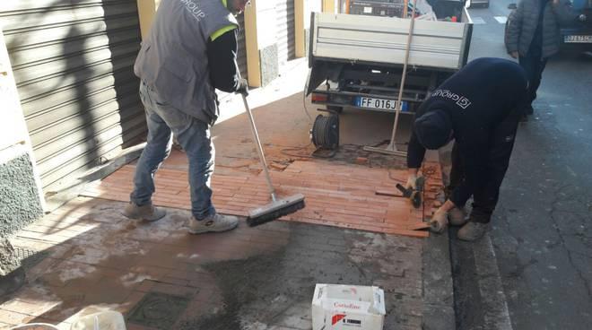 riviera24 - Manutenzione stradale a Ventimiglia