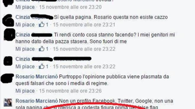 riviera24 marcianò facebook rosario valeria soresin