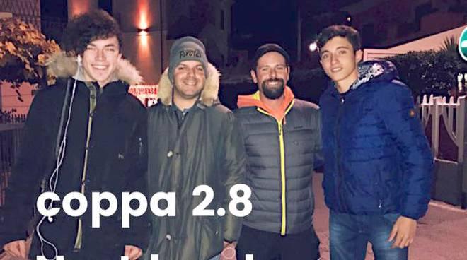 riviera24 - Pietro Novaro Filippo Sciolli  Giacomo Donzella Marco Collurà