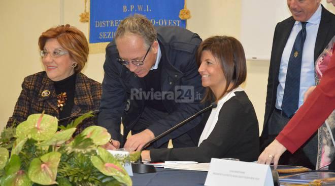 Riviera24 - Sanremo, convegno Fidapa BPW Italy, firma Carta dei diritti della donna nello sport