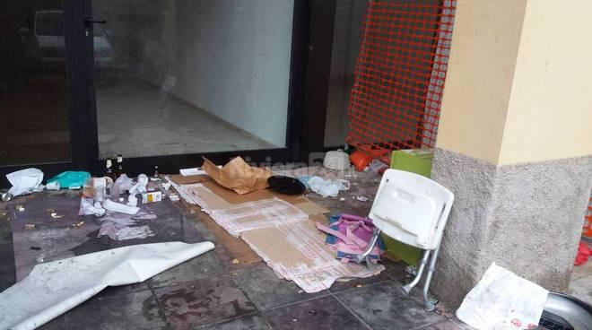 Sanremo clochard
